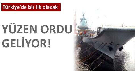İlk Türk uçak gemisine doğru
