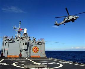 Türk donanması kapılarını açtı