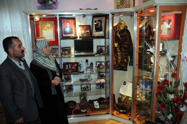 Haber: Şehit Oğulları İçin Odayı Müzeye Dönüştürdüler