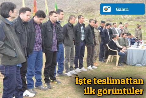 PKK Kaçırdığı kamu görevlilerini teslim etti