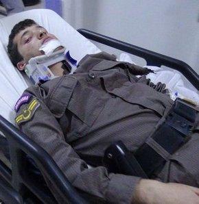 Yaralı astsubay önce askerini sordu